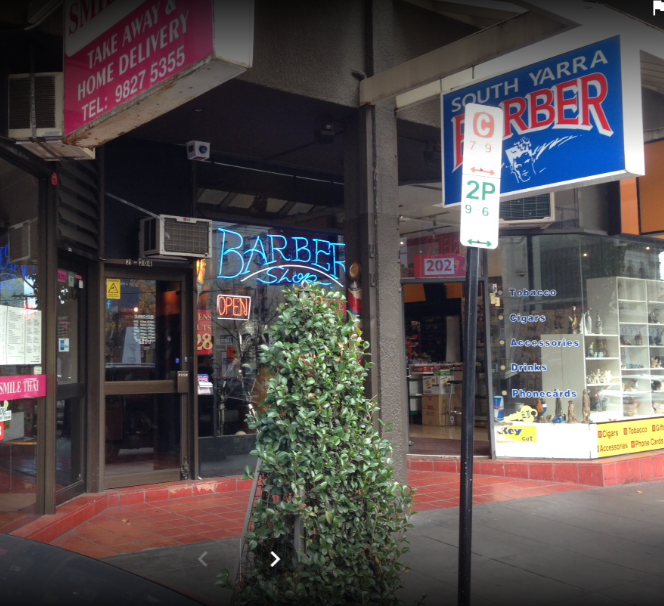 South Yarra Barber Shop